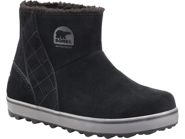 Sorel W's Glacy Short Boots Black/Shark